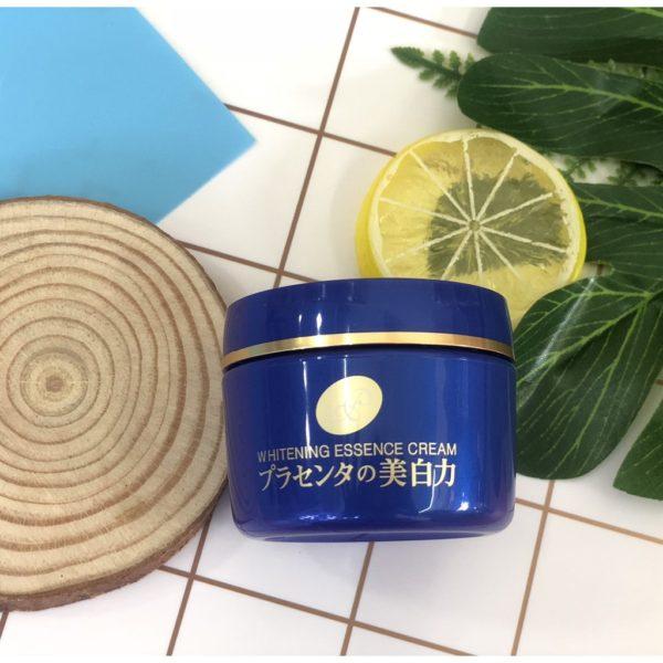 Kem dưỡng trắng da từ nhau thai Meishoku Whitening Essence Cream 55g