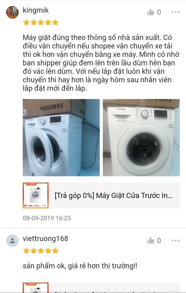 khách hàng đánh giá Samsung