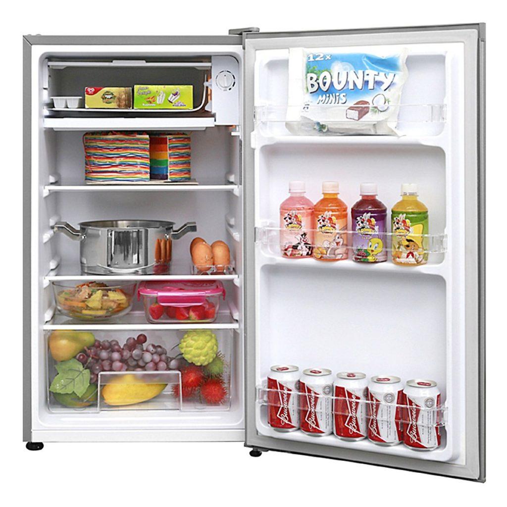 Bên trong tủ Lạnh Electrolux EUM0900SA 90L