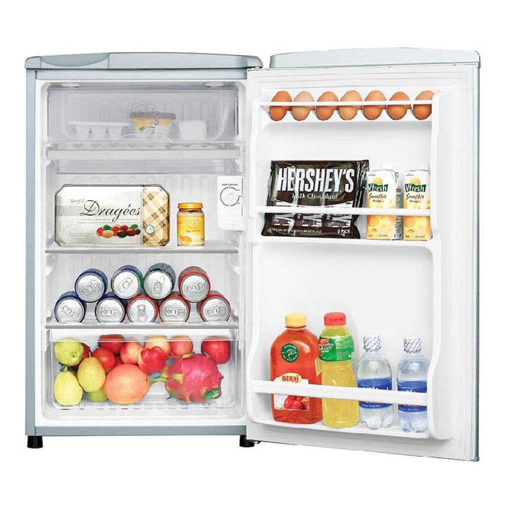 Thiết kế kệ Tủ Lạnh Mini Aqua AQR-95ER-SV