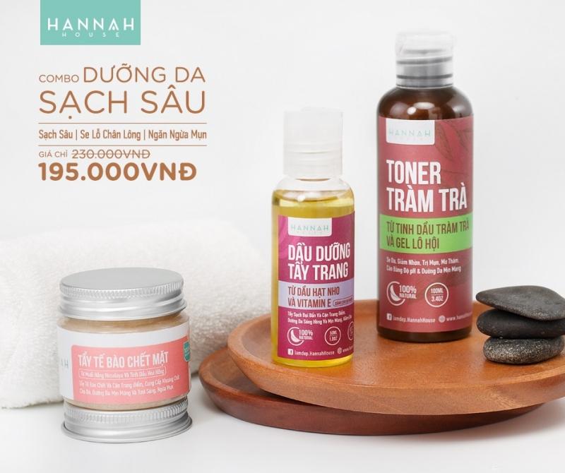 Hannah shop bán mỹ phẩm thiên nhiên