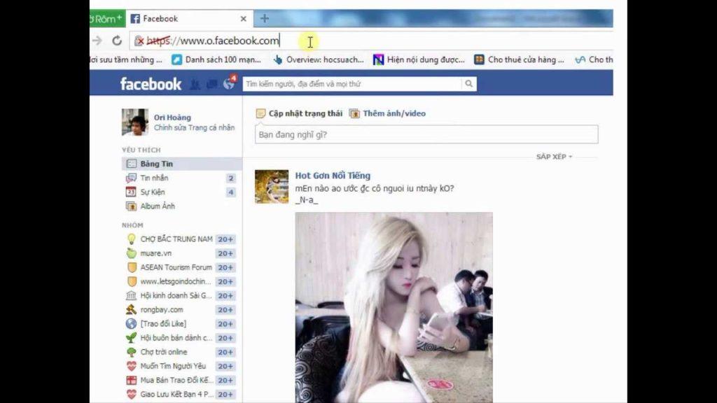 trang facebook có trên 1000 bạn