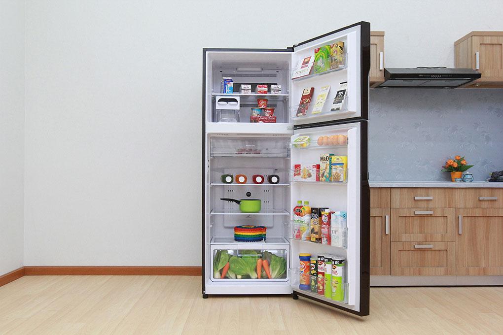 Tủ lạnh Hitachi Inverter R-VG440PGV3 365 lít có tốt không, đánh giá chi tiết