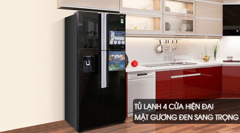 Tủ lạnh Hitachi R-FW690PGV7-GBK 540 lít