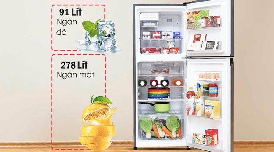 Khay kệ Tủ Lạnh Inverter Electrolux ETB3700H 350L lít