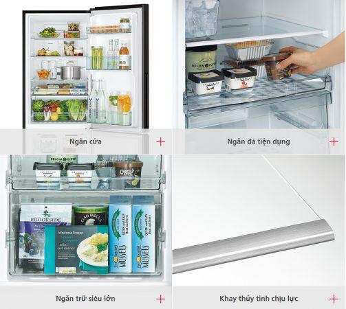 Tủ Lạnh Hitachi R-B330PGV8-BBK