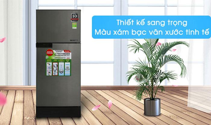 Tủ Lạnh Inverter Sharp SJ-X176E 150 lít