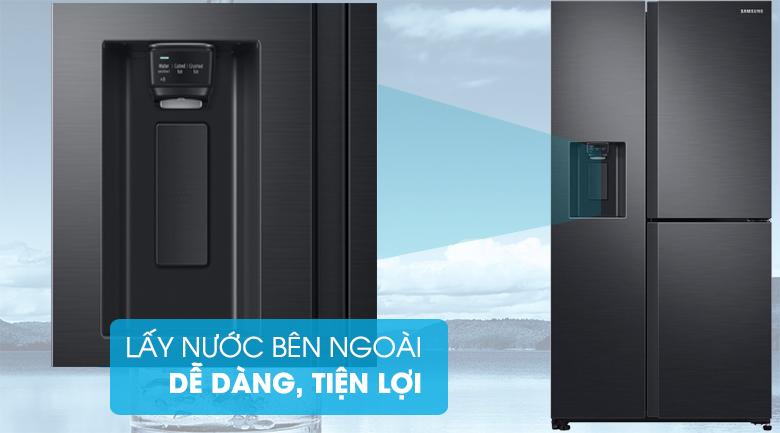 làm đá Tủ lạnh Samsung Inverter RS65R5691B4-SV