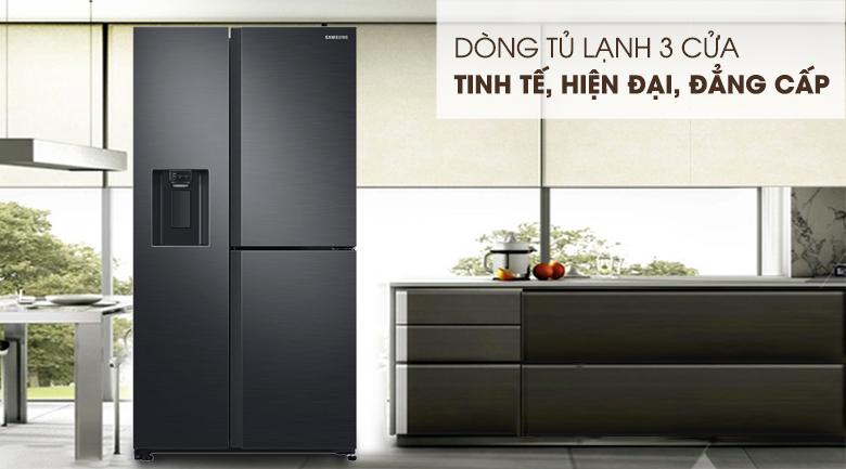 Tủ lạnh Samsung Inverter 602 lít RS65R5691B4-SV