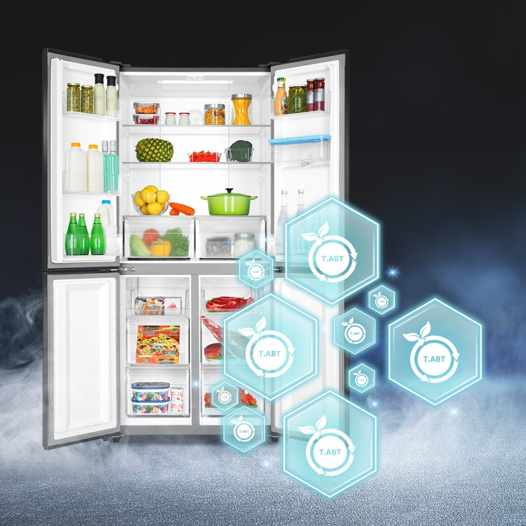 Tủ lạnh Aqua AQR IGW525EM(GB)