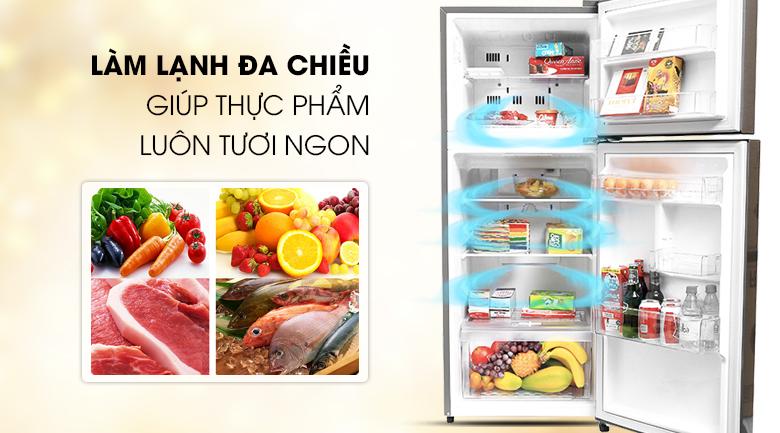 Tủ lạnh làm lạnh đa chiều