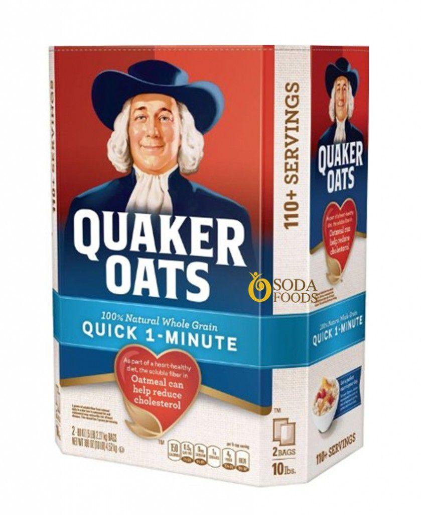 yen mach quaker oats quick 1