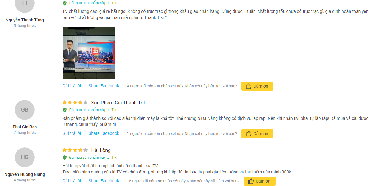 Đánh giá Smart Tivi Samsung 4K 65 inch UA65NU7100