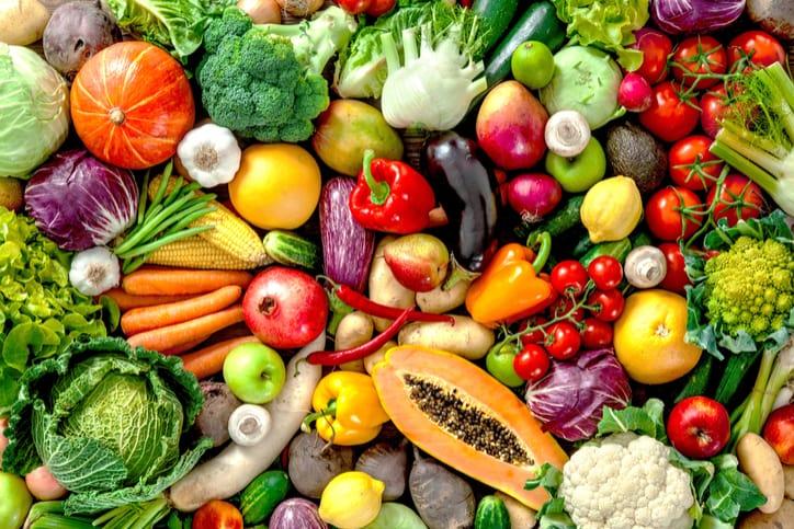 Đa dạng các loại thực phẩm
