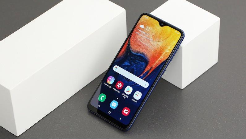 Điện thoại Samsung A10 sắc nét, nhiều tiện ích hấp dẫn