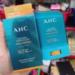 Kem chống nắng dạng thỏi AHC Natural Perfection Fresh Sun Stick có thực sự tốt như lời đồn