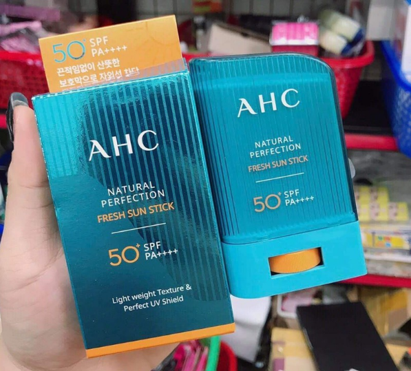 AHC Natural Perfection Fresh Sun Stick giá bán vừa túi tiền