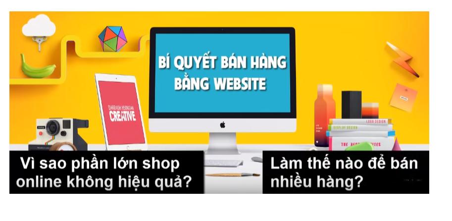 Bí quyết bán hàng bằng website