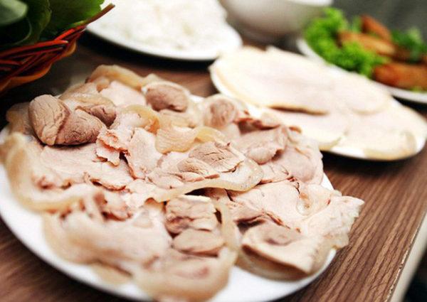 Bữa ăn thêm ngon với thịt luộc