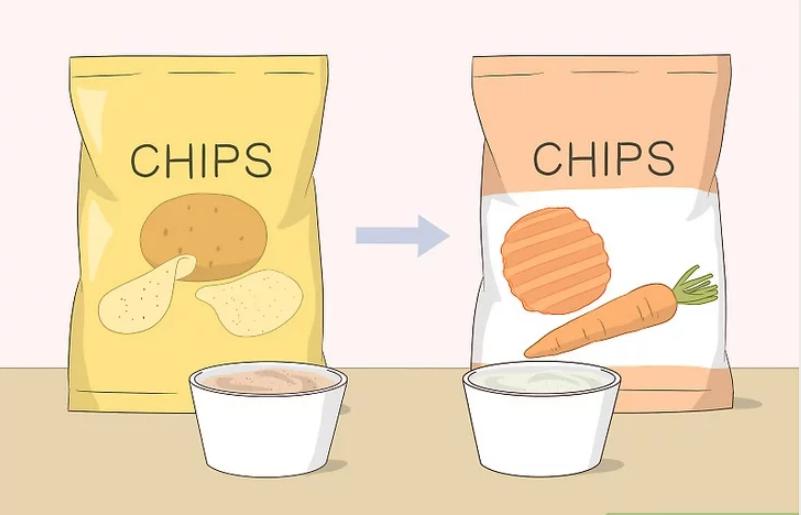 Cùn 1 loại thực phẩm nhưng hãy đổi chủng loại lành mạnh hơn