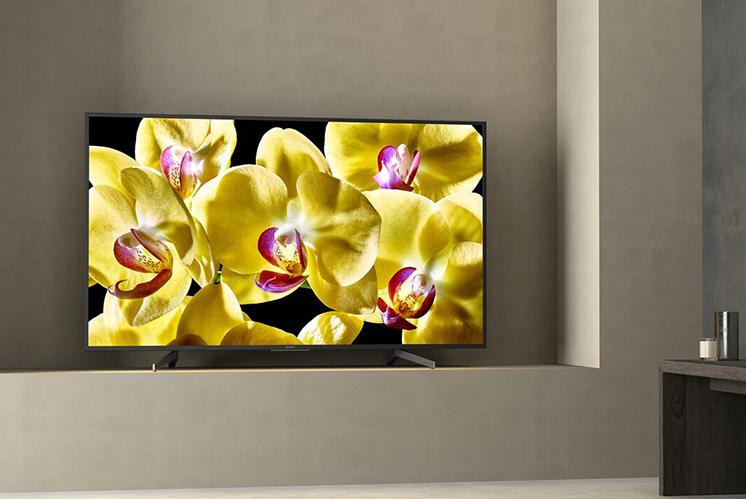 Chiếc tivi Android Tivi Sony 4K 43 inch KD 43X8000G thiết kế hiện đại