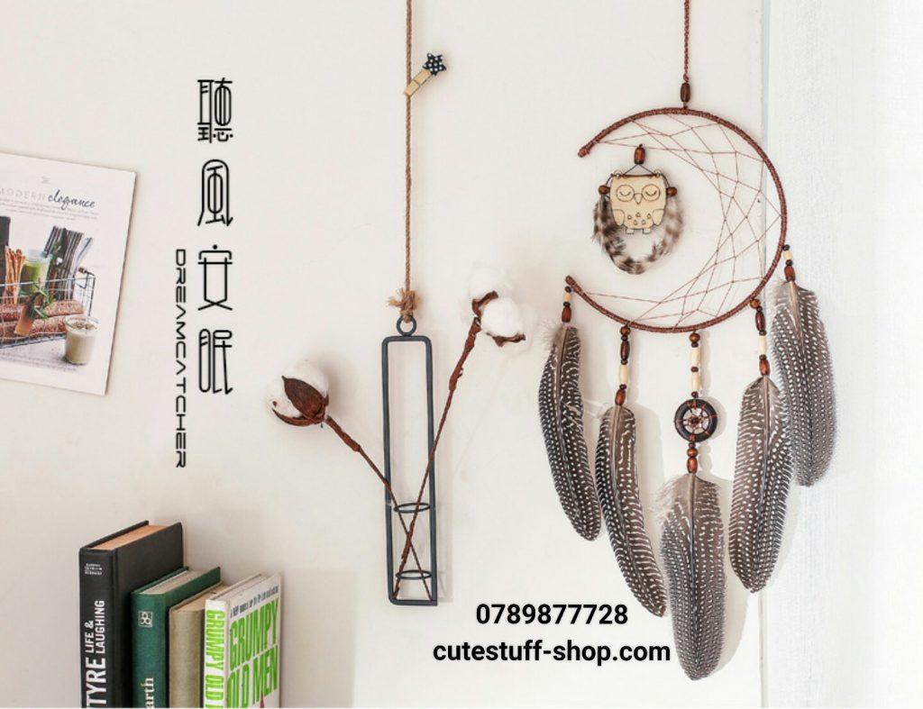 Dreamcatcher Lưới Bắt Giấc Mơ Cú Mèo