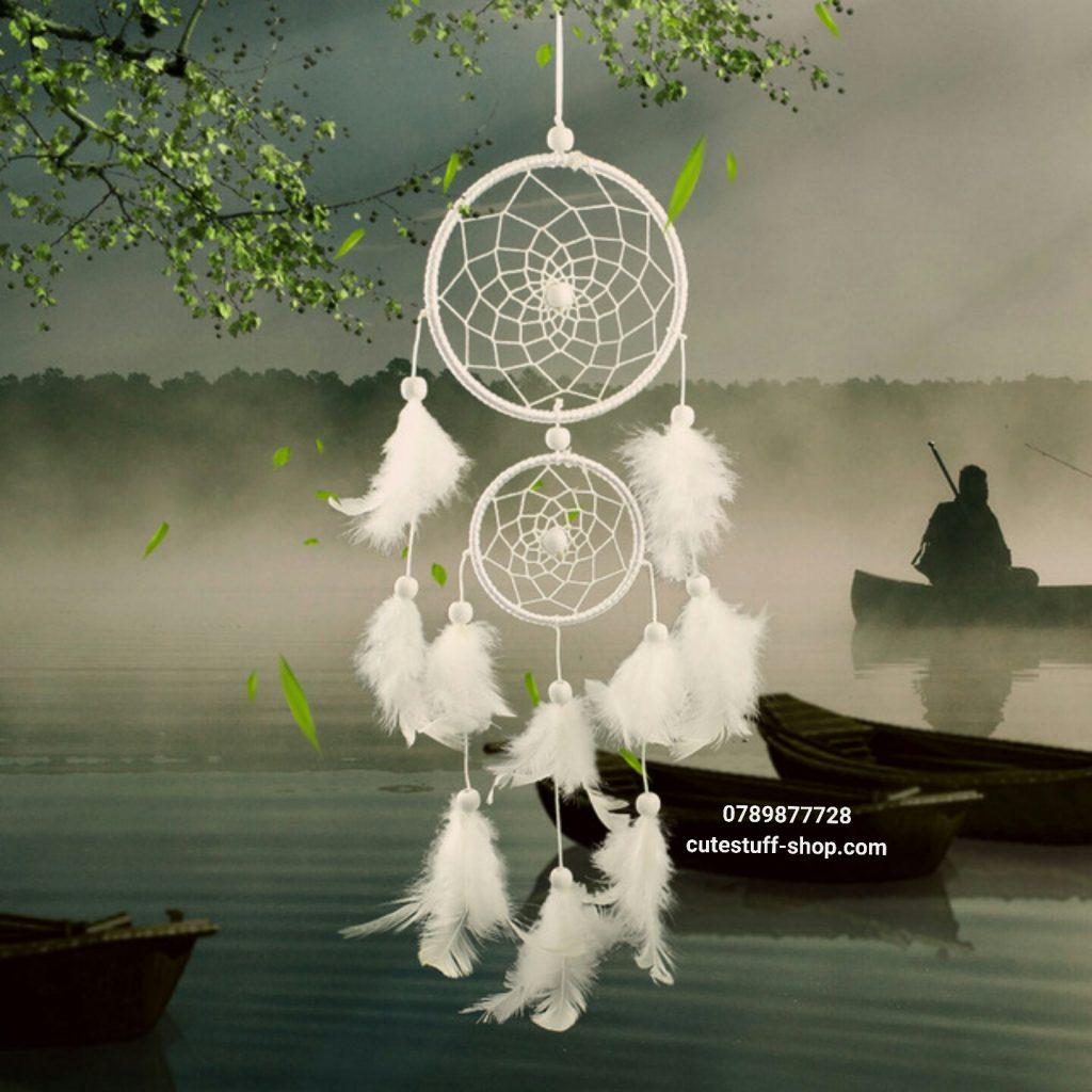 Dreamcatcher Lưới Bắt Giấc Mơ Lông Tuyết