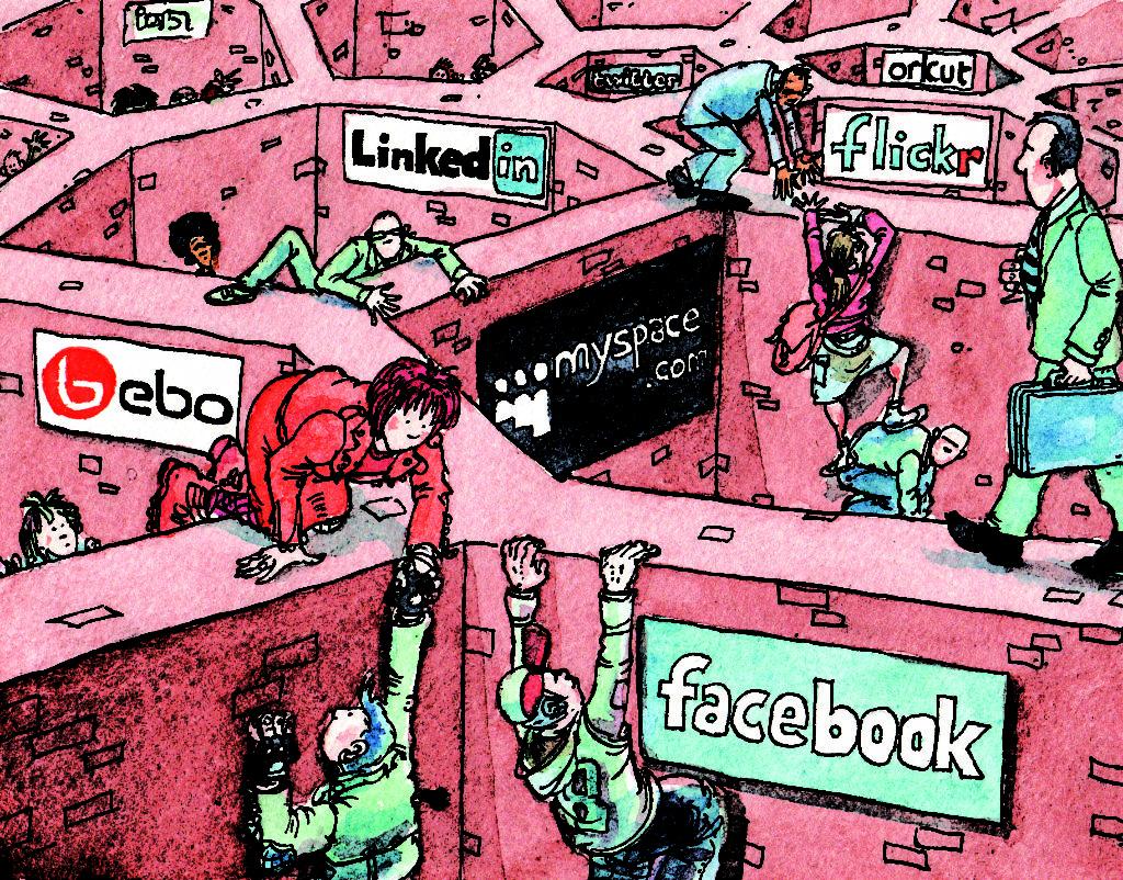 Facebook thống trị các mối quan hệ