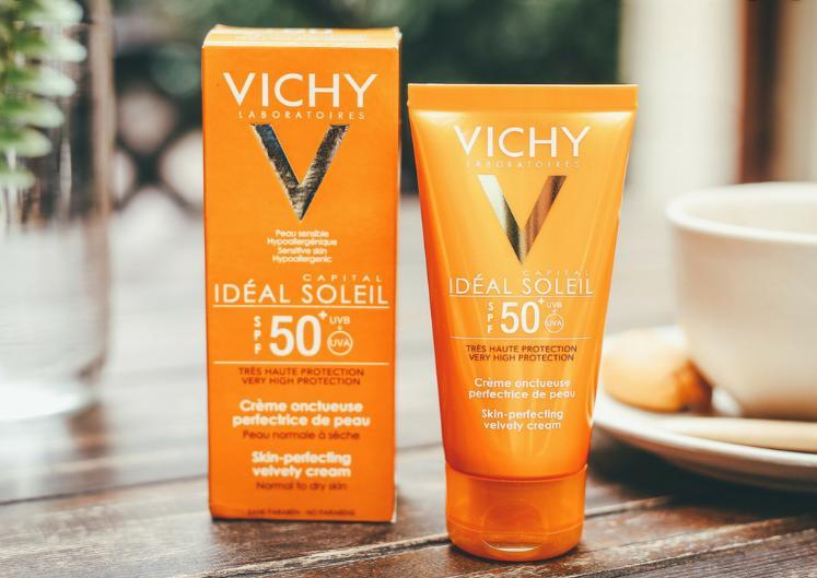 Kem Chống Nắng Vichy Skin Perfecting Velvety