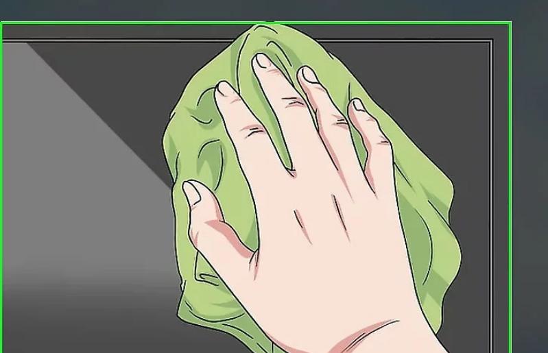 Loại bỏ dấu vân tay của bạn khỏi màn hình TV