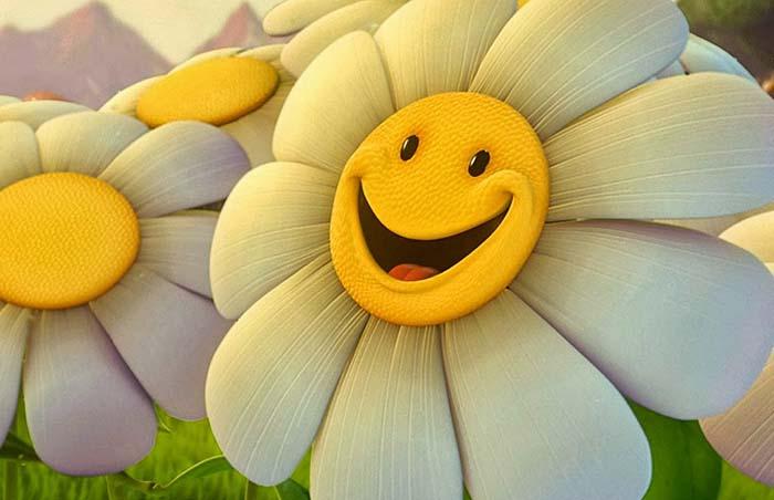 Luôn tươi cười như trẻ thơ