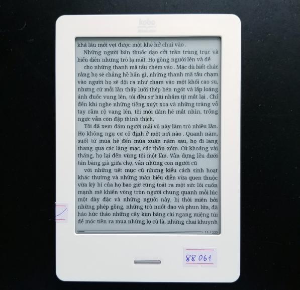 Máy đọc sách cũ giá dưới 1 triệu vẫn sử dụng tốt