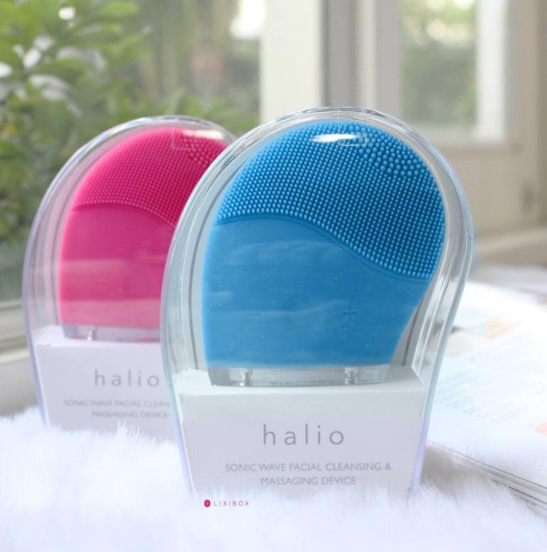 Máy rửa mặt Halio làm sạch bụi bẩn trên da