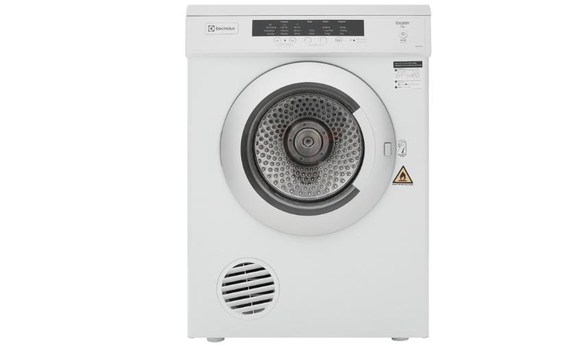Máy sấy quần áo Electrolux 7.5 kg EDV7552 làm khô nhanh, tiện lợi