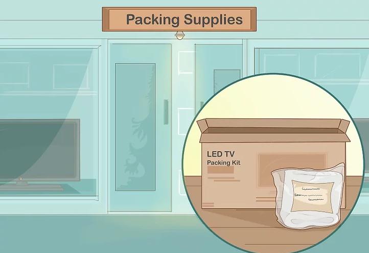 Mua một bộ sản phẩm đóng gói TV để sử dụng