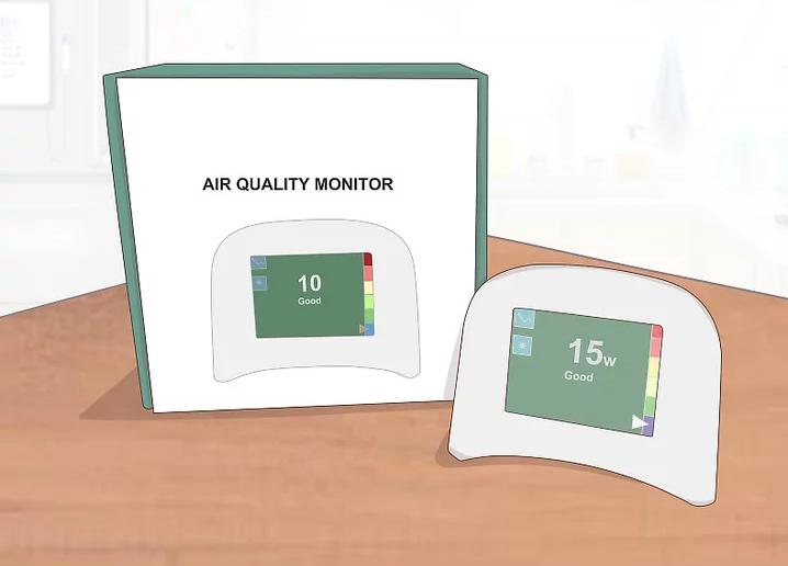 Mua một chiếc máy đo và hiển thị chất lượng không khí trong nhà bạn