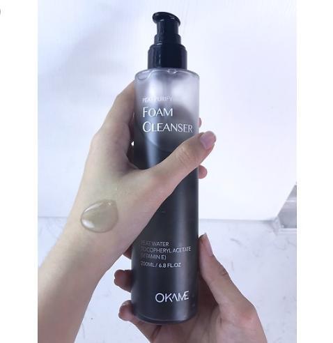 Nước tẩy trang Okame than hoạt tính