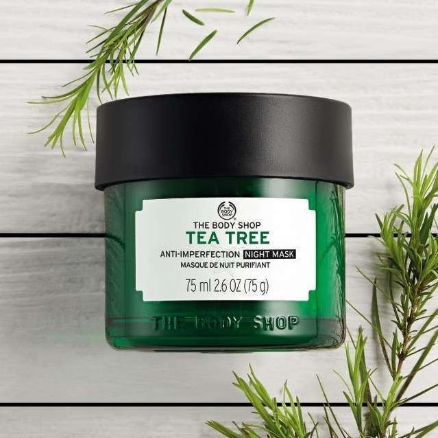 Nặn mụn xong nên làm gì Dùng mặt nạ Tea Tree dưỡng da