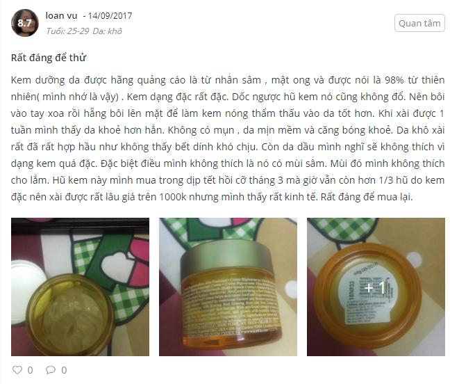 Review Kiehl's Pure Vitality Skin Renewing Cream