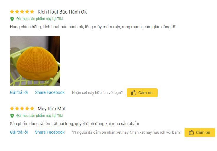 Review chi tiết Máy rửa mặt Halio