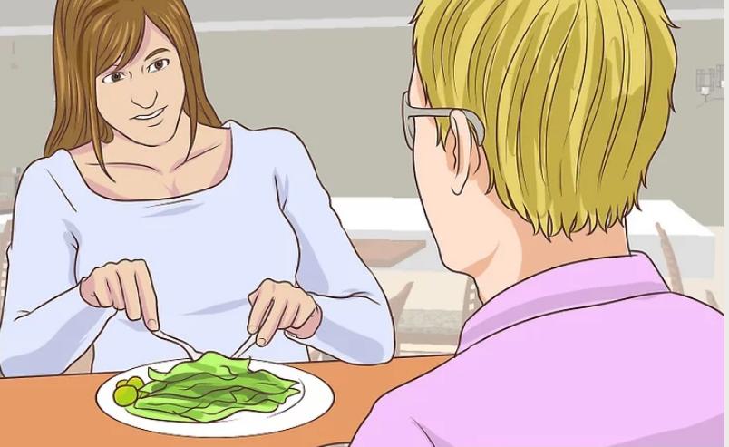 Sử dụng dao kéo, đồ hỗ trợ thích hợp trên bàn ăn