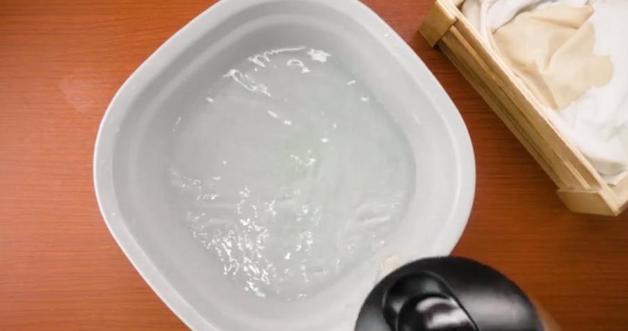 Sử dụng nước ấm để mang lại hiệu quả tốt hơn