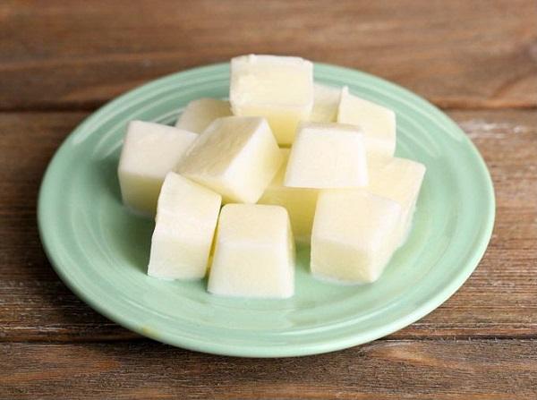 Sữa tươi đông đá