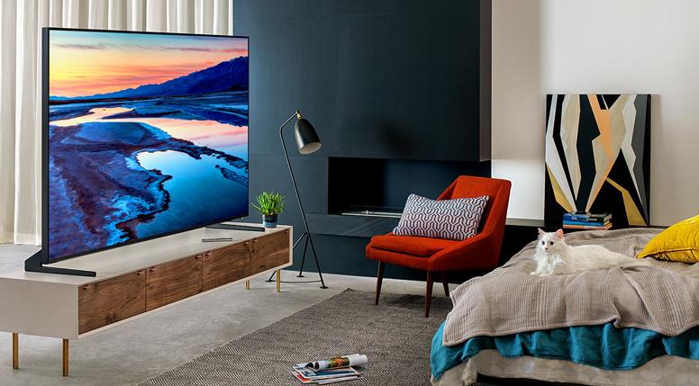 Smart Tivi QLED Samsung 8K 98 inch QA98Q900R tinh xảo đến từng chi tiết