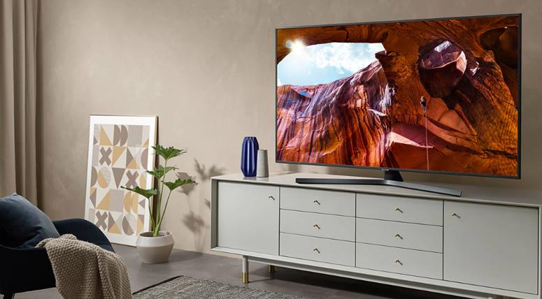 Smart Tivi Samsung 4K 50 inch UA50RU7400 màn hình đẹp, sắc nét