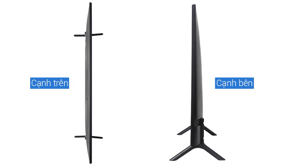 Smart tivi samsung 55nu7100 mỏng nhẹ hợp với nhiều không gian