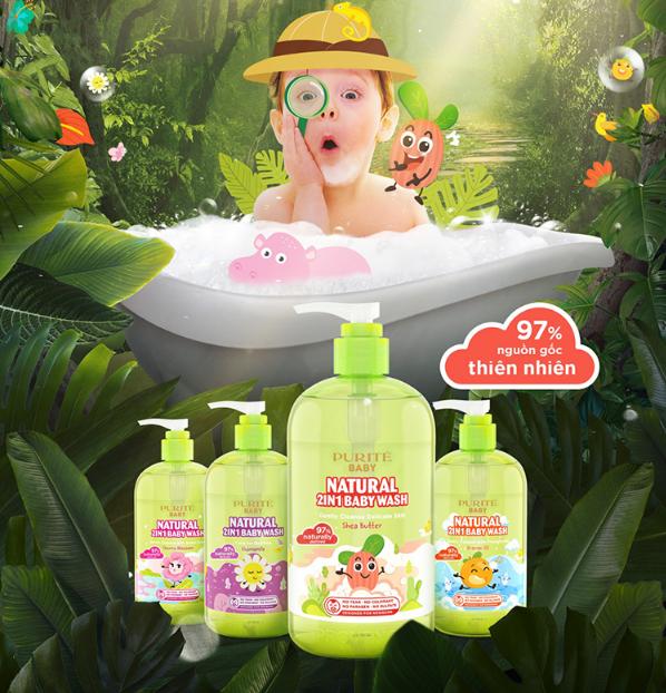 Tắm cùng thiên nhiên an toàn và lành tính