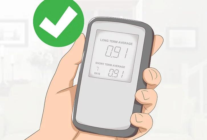 Tự kiểm tra random độc hại tại nhà bằng máy đo