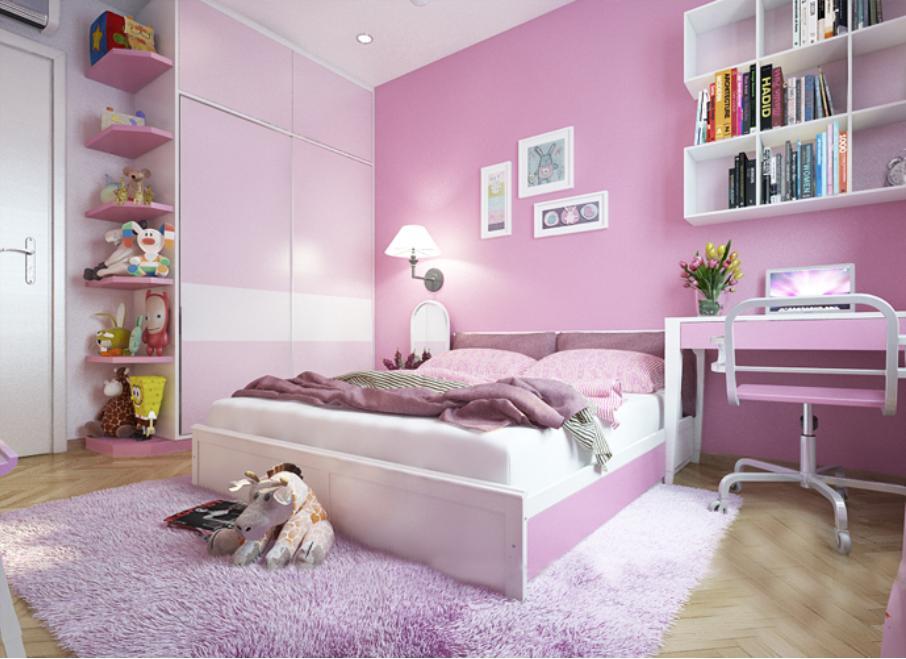 Thảm bông mềm mại lót sàn êm