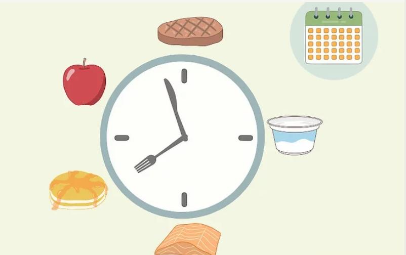 Thiết lập thời gian biểu ăn uống lành mạnh